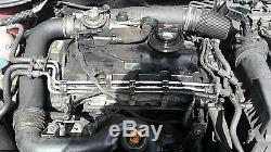 04-08 Vw, Audi, Skoda, Seat 1.9tdi Bkc Bxe Engine With Injector And Pump
