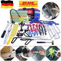 109× Ausbeulwerkzeug Set Gleithammer Dellen Reparatur Ausbeulstange Dellenzanger