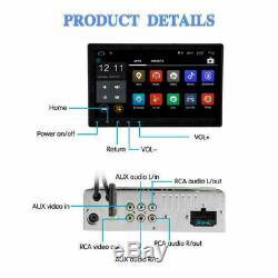 10.1 AUTORADIO mit Android Touch Bildschirm BT 1 Din USB SD Navigation Navi GPS