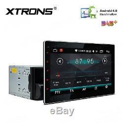 10.1 Double DIN Android 6.0 Car Headunit Stereo GPS SAT NAV DAB+ Radio WiFi BT