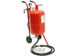 10 Gallon 38L Sandblaster Bead Pot Sand Blaster Grit Blasting Blast Sandblasting