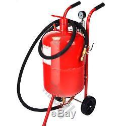 10 Gallon/40L Sandblaster Bead Pot Sand Blaster Grit Blasting Blast Sandblasting