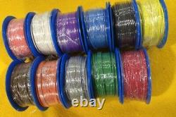 11 rolls 30m x 20 Amp Auto cable 3 mm solid colours GP electrical wire TYCAB