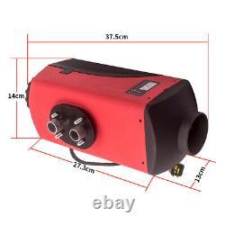12V 2KW-5KW Diesel Air Heater Remote Control LCD Display For Truck Van Motorhome