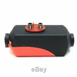 12V 2KW Diesel Air Heater for RV Motorhome Trailer Trucks Boats 2KW + Silencer H