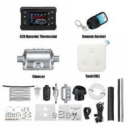 12V 8000W LCD Air Diesel Heater PLANAR 8KW for Car Truck MotorHomes Vent