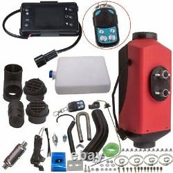 12V Air Diesel Night Heater 2KW 5KW Remote LCD For Car Truck Motor Boat Home UK