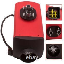 12V Diesel Air Heater Digital Switch 10LTank 1xMuffler for Lorry Boat Van 5KW