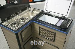 12v & 240v Compressor Fridge for Campervan Pod, Top Loading 25L Cools to -20c