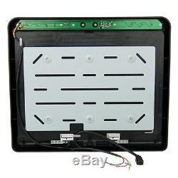17,1 TFT Deckenmonitor 30,7cm Auto KFZ PKW Bildschirm, Flip-Down für DVD & DVBT