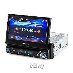 18cm (7) Touchscreen Moniceiver 1din DVD Autoradio Mp3 Player Rds Usb Bluetooth