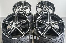 19 Zoll AX7 Felgen für Mercedes Benz S E Klasse W211 W212 W207 AMG S63 S65 C217