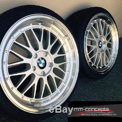 19 Zoll Ultra Wheels UA3 Felgen 5x120 Silber Gutachten Alu Le Mans für BMW E46