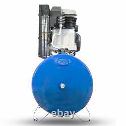 200L Litre Air Compressor Belt Drive 3hp 145psi 10bar 14cfm 2 cylinder