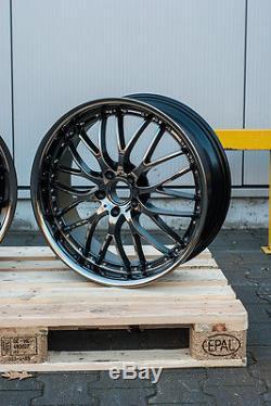 20 inch alloy wheels 5x112 AUDI A4 A6 A8 Q3 Q5 VOLKSWAGEN VW PASSAT CC TIGUAN