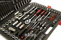 215 Piece Professional Socket Set 1/2 3/8 1/2 DR / Spanners / Torx + More