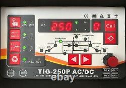 250amp Ac/dc Pulse Tig/tig/mma Igbt Inverter Welder Aluminium Welding Machine
