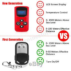2KW 12V diesel Air Heater LCD Switch With Remote Silencer For Truck Boat Trailer