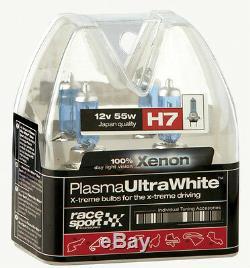 2 H7 Super Bright Xenon Gas Ultra White Car Front Headlight Headlamp Light Bulbs