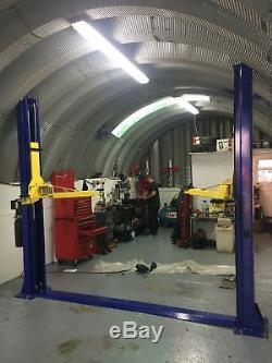 2 post lift car vehicle hoist 4000kg single phase 240v