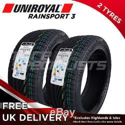 2x NEW 225 40 18 Uniroyal Rainsport 3 92Y XL 225/40R18 (2 TYRES) A Wet Grip
