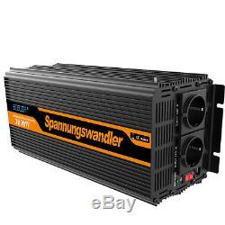 3000W 6000W Solar Wechselrichter DC 12V auf AC 230V Spannungswandler Softstart