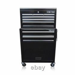 311 Us Pro Tools Black Tool Chest Box Roller Cabinet Chest Lockable