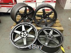 3 SERIES 18 Alloy Wheels BMW 5x120 EURO DRIFT E90 E91 E92 E93 F10 F30 GUNMETAL
