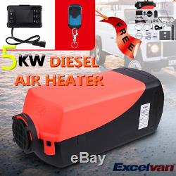 5000W LCD Air Diesel Heater 5KW 12V PLANAR For Trucks Motor-Homes Boats WithRemote