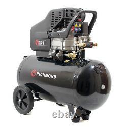 50 Litre Air Compressor 9.6 CFM, 2.5 HP, 50L