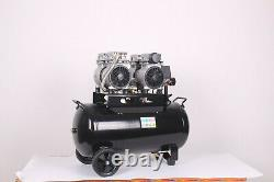 50 Litre Silent Air Compressor Oil Free Low Noise 50l DIRTY PRO TOOLS RRP £349