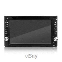 6.2 2Din Autoradio Car Touchscreen DVD GPS Navi Navigation Bluetooth USB SD MP3