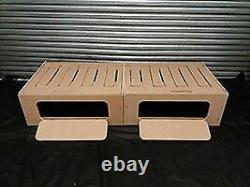 6ft 3in Sliding Camper Motorhome Narrow Boat Self Build Double Bed Seat Storage