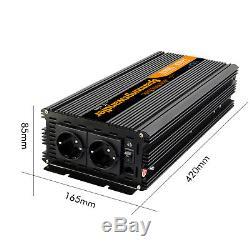 7000W 3500 Watt Reiner Sinus Solar Wechselrichter 12V 230V Spannungswandler