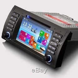 7 Autoradio BMW 5er E39 X5 E53 M5 GPS Sat Navi iPod Can Bus DVR/DTV-IN DAB+ DVD