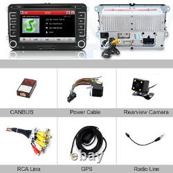 7 Stereo Car radio DVD GPS Sat Nav BT for VW Golf MK5 Caddy Touran Passat Seat