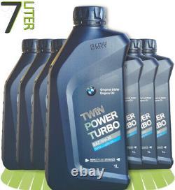 7 x 1 L BMW TwinPower Turbo 5W-30 Motoröl Longlife-04 7 Liter 83212465849