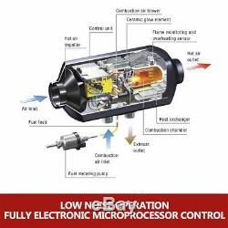 8000W Air Diesel Heater 8KW 12V PLANAR for Trucks, Motor-homes, Boat Bus Van NU