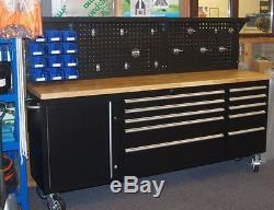 86 Inch Tool Cabinet on Wheels from Neilsen Tools. Tool Chest. Workshop Tool Box