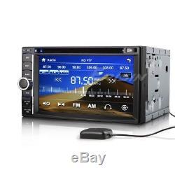 890DE 6.2 2 Din HD Autoradio DVD/USB/SD Player 3G GPS RDS VMCD Bluetooth iPod