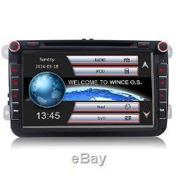 8 DVD GPS Autoradio für VW GOLF 5 6 PASSAT TIGUAN TOURAN Sharan POLO Caddy SEAT