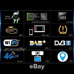8-Kern Doppel 2DIN Universal NAVI Android 8.0 Autoradio WiFi OBD DVB-T2 DVR DAB+