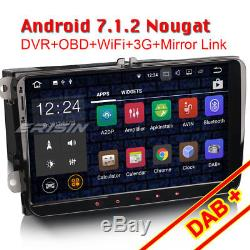 9Android 7.1 Autoradio Navi GPS DAB+für PASSAT GOLF SHARAN JETTA EOS SKODA SEAT
