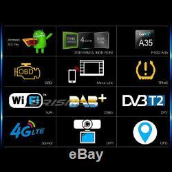 9 Android 9.0 DAB+ Autoradio OPS GPS Für VW Passat Polo Golf Tiguan Touran Seat