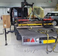 AB-MR3000 3 ton Vehicle Scissor Lift 3 YEAR WARRANTY £1250 + VAT