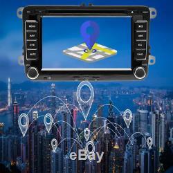 AUTORADIO 2DIN GPS NAVI DVD BLUETOOTH Für VW GOLF 5 PASSAT TOURAN TIGUAN POLO T5