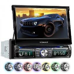 AUTORADIO DVD CD BLUETOOTH 718cm TOUCHSCREEN DISPLAY USB+SD=256GB MP3 AUX 1DIN