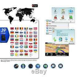 AUTORADIO GPS DAB+ NAVIGATION mit BLUETOOTH TOUCHSCREEN USB SD MP3 Doppel 2DIN