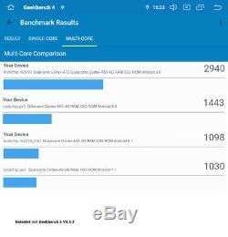 AV8V6 Android 10 Autoradio Naviceiver Moniceiver GPS VW Seat Skoda IPS DAB+DSP