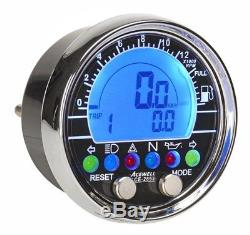 Acewell Digital Speedo for Custom Motorcycles Choppers Cafe Racer ADR Approved